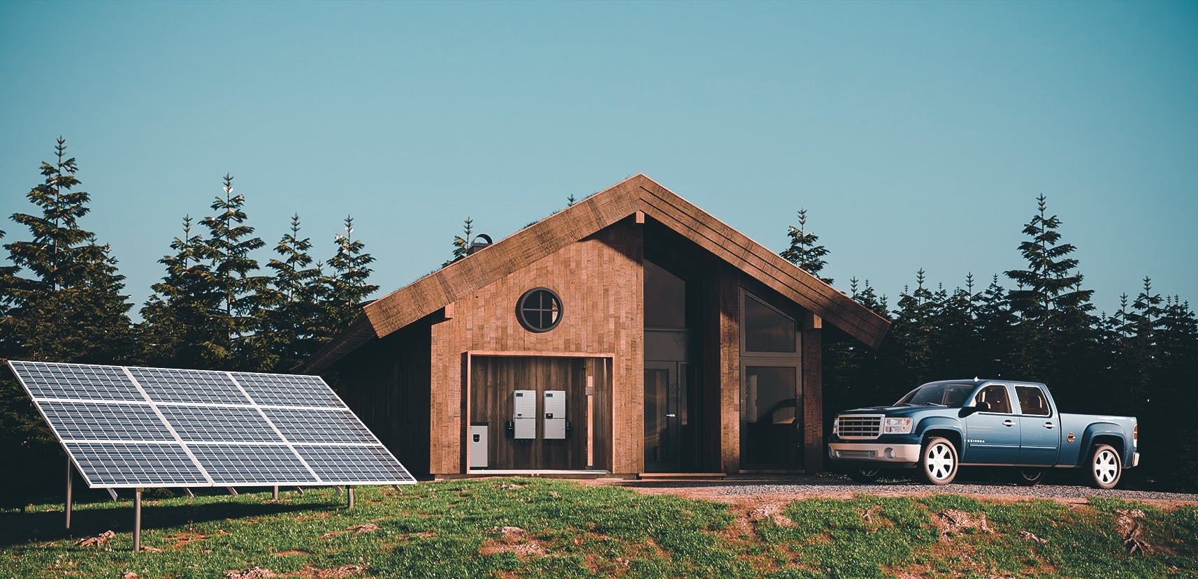 off grid solar home