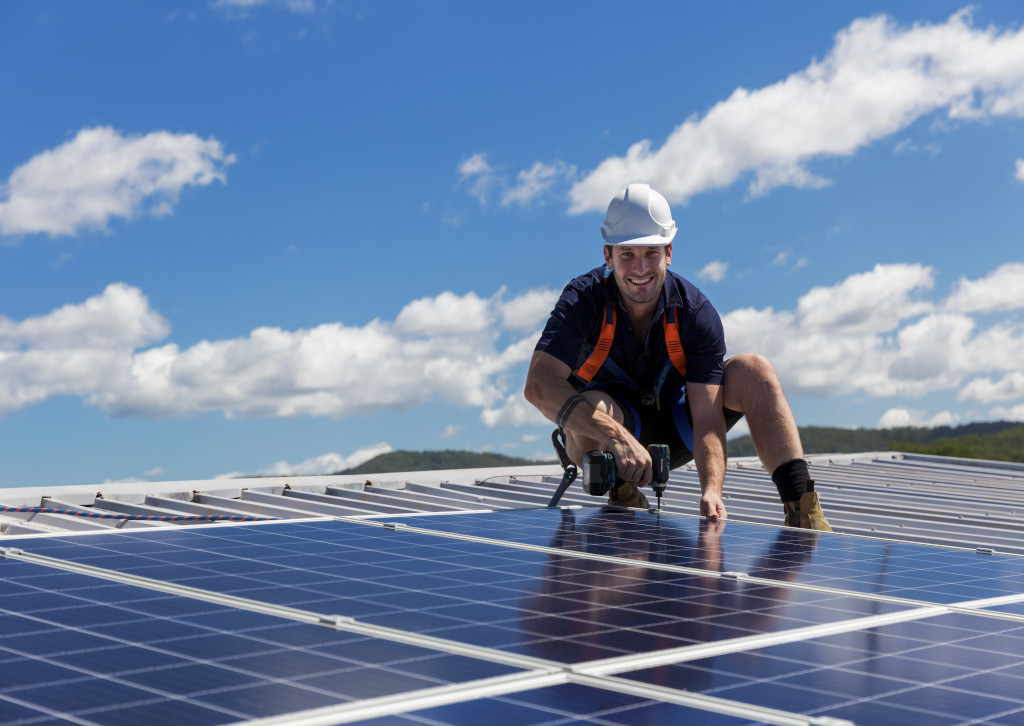What motivates one to install solar panels?